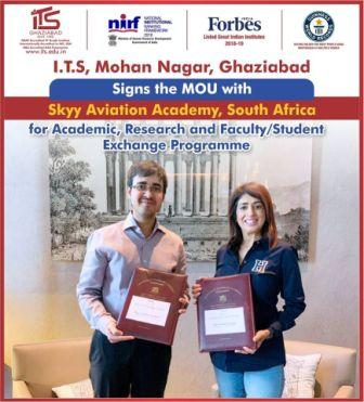 I.T.S - The Education Group signs MoU with Skyy Av