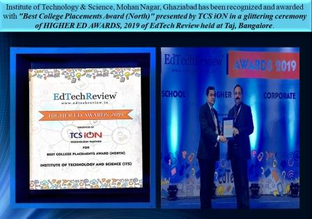 Best College Placements Award (North) by TCSiON