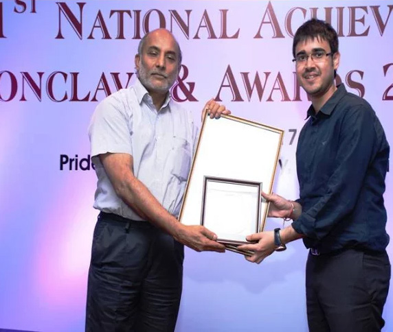 Institute with Best Placement Award by IRMA - 2017